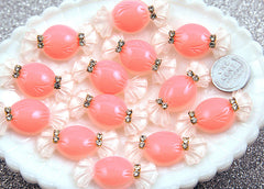 40mm Classy Candy Resin Cabochons – 6 pc set