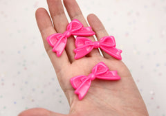 47mm Elegant Ribbon Resin Cabochons - 6 pc set