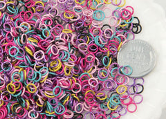 5mm Color Jump Rings - 45g (About 600 pcs)