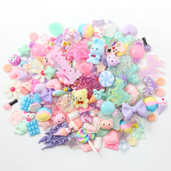 Super Kawaii Pastel Charms for Slime - Cute Resin Cabochons for crafts! 150+ pcs