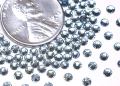 3mm Swarovski Crystal Components Rhinestones - Aquamarine (SS9) - 50 pc set