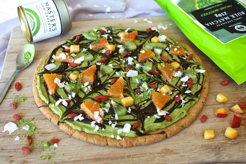 DoMatcha Vegan Halloween Cookie Pizza
