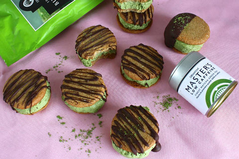 DoMatcha matcha ice cream sandwiches
