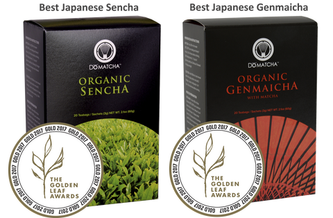 DōMatcha® Australia - Sencha and Genmaicha Golden Leaf Awards Winners 2017