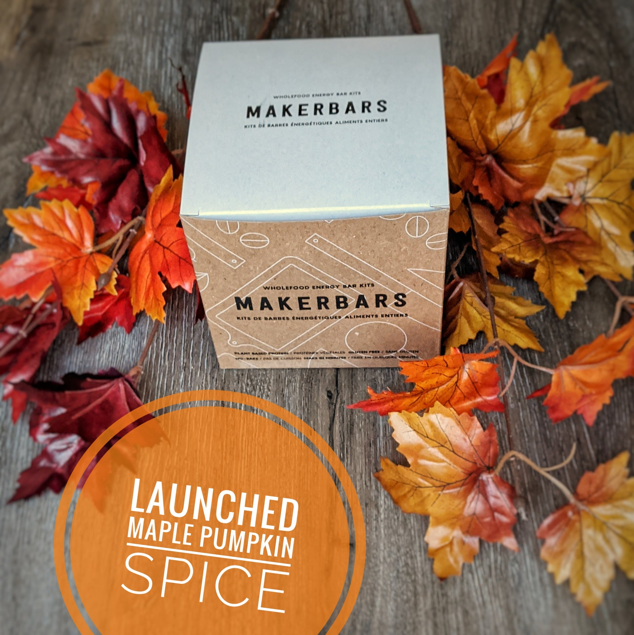 Maple Pumpkin Spice - Energy Bar Kit