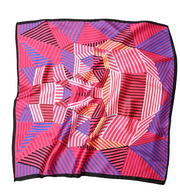 Foulard carré art