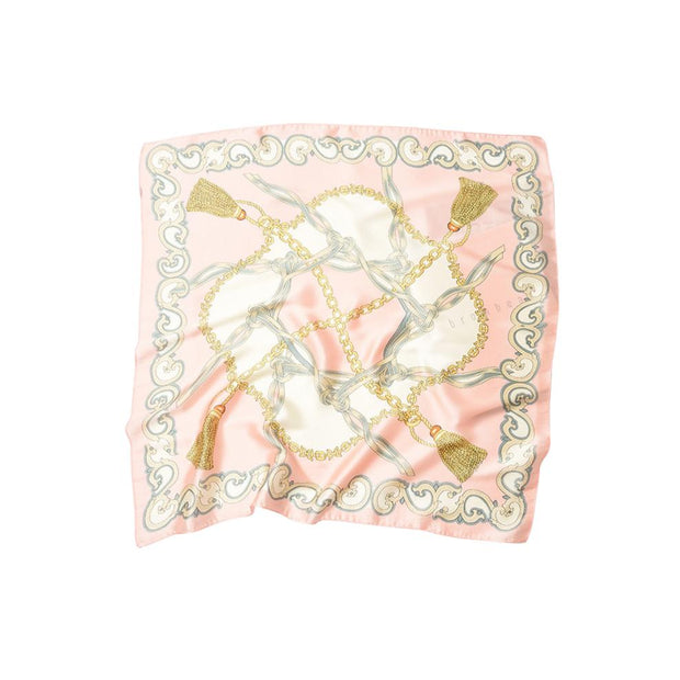 Foulard carré royal rose