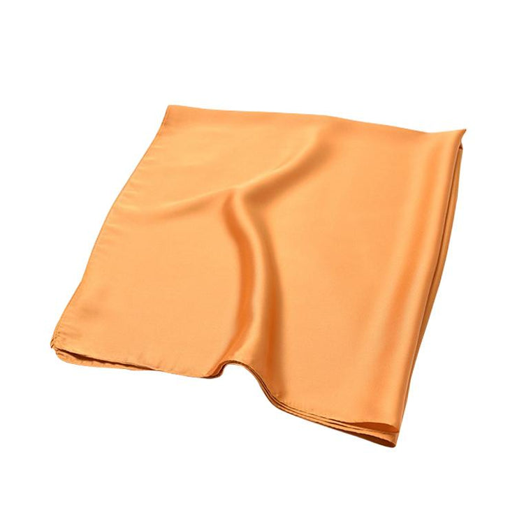 foulard carré orange 2