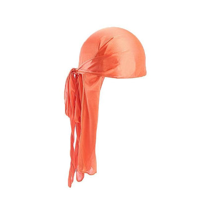Durag orange pou homme