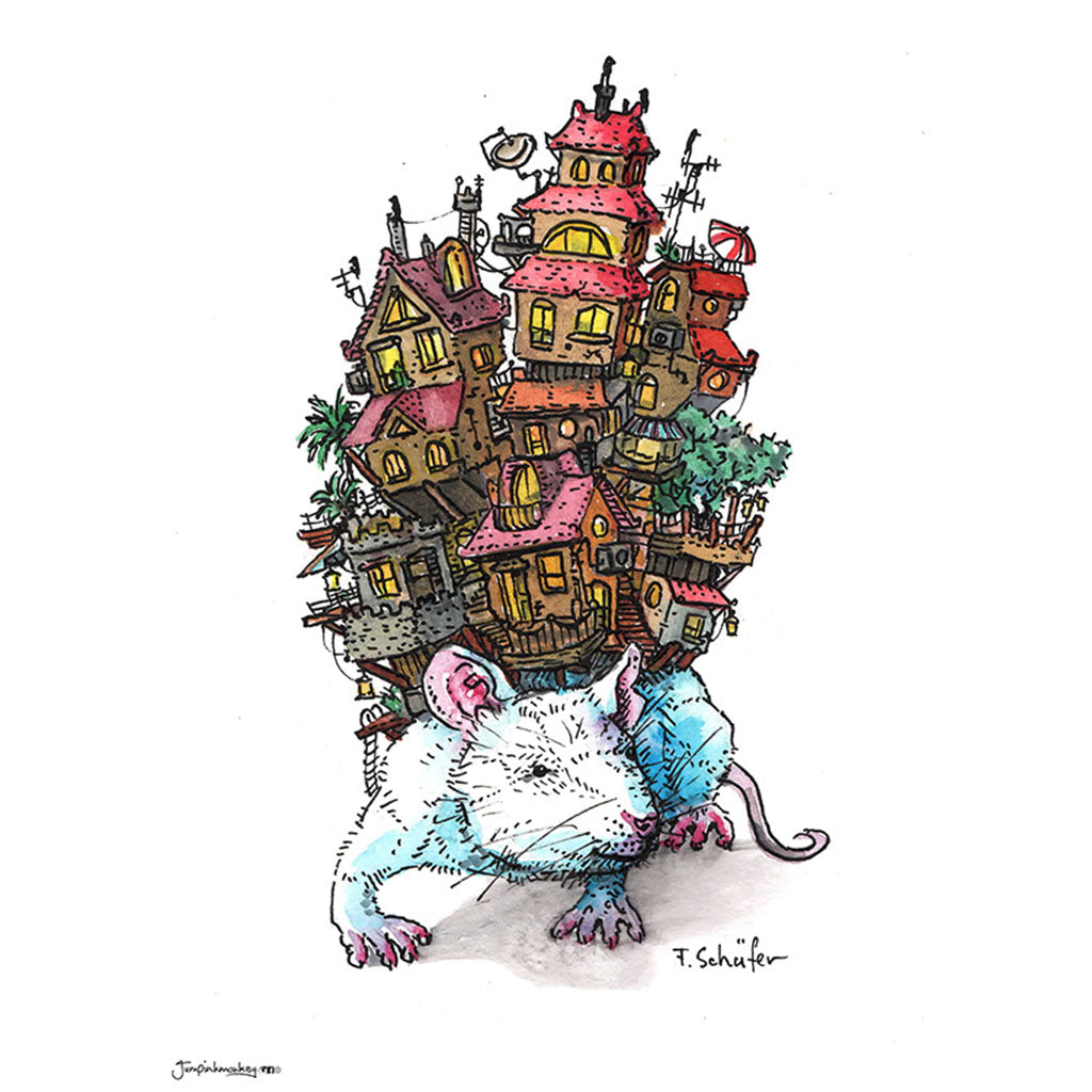 'Rat Kingdom' Art Print