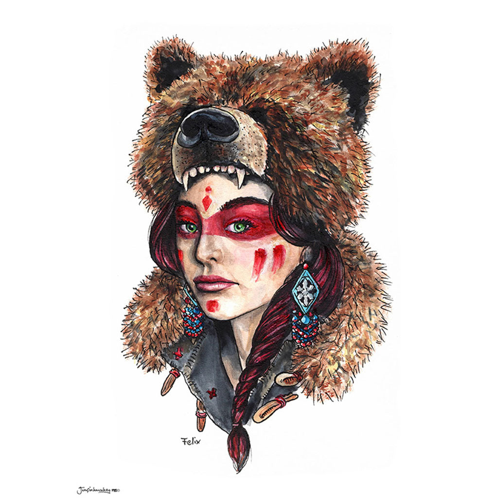 'Bear Woman' Original