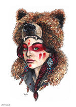 Bear Woman headdress native