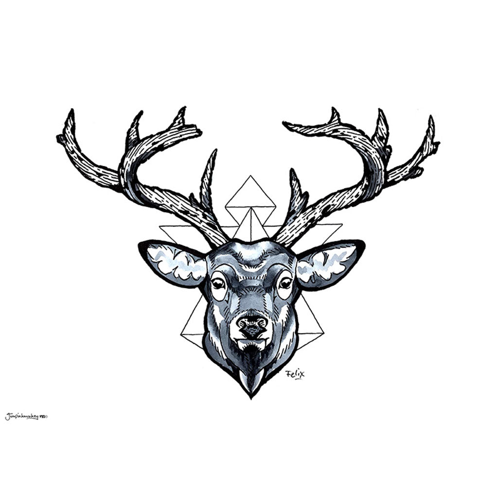 'Deer Head' Original