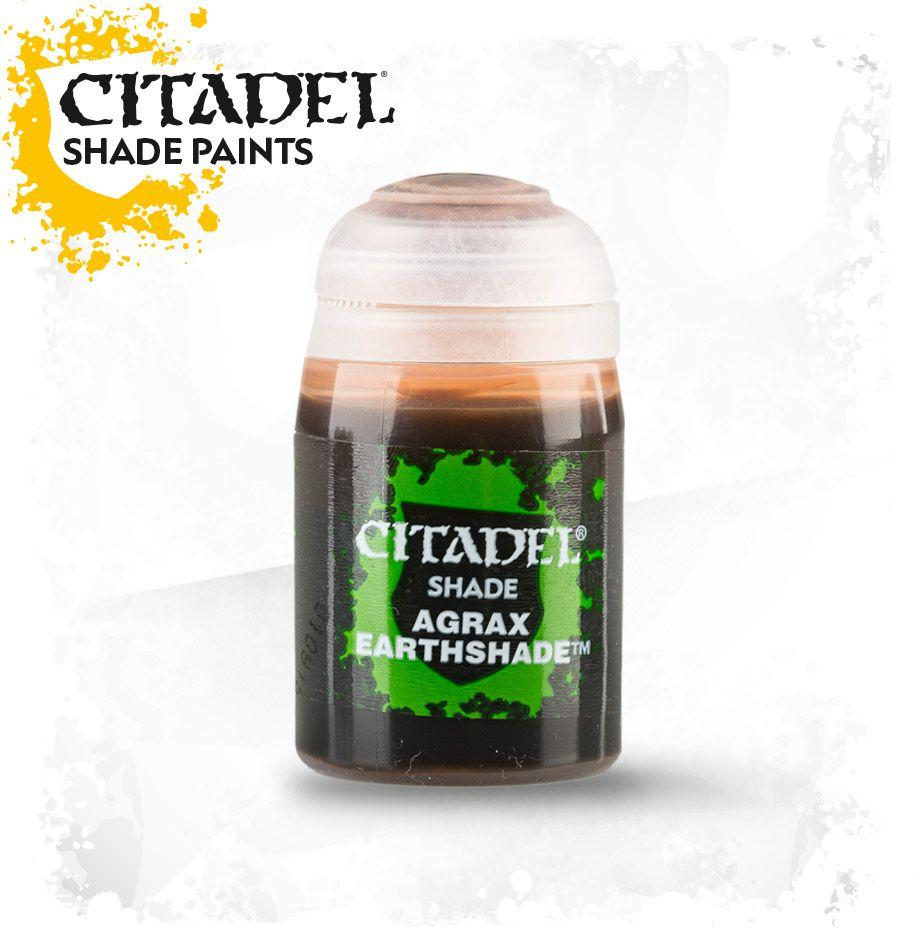 Citadel Paint Shade Agrax Earthshade(24ml) | Millennium Comics