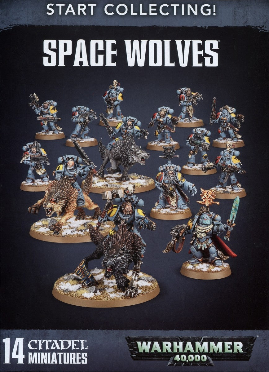 Start Collecting! Primaris Space Wolves | Millennium Comics