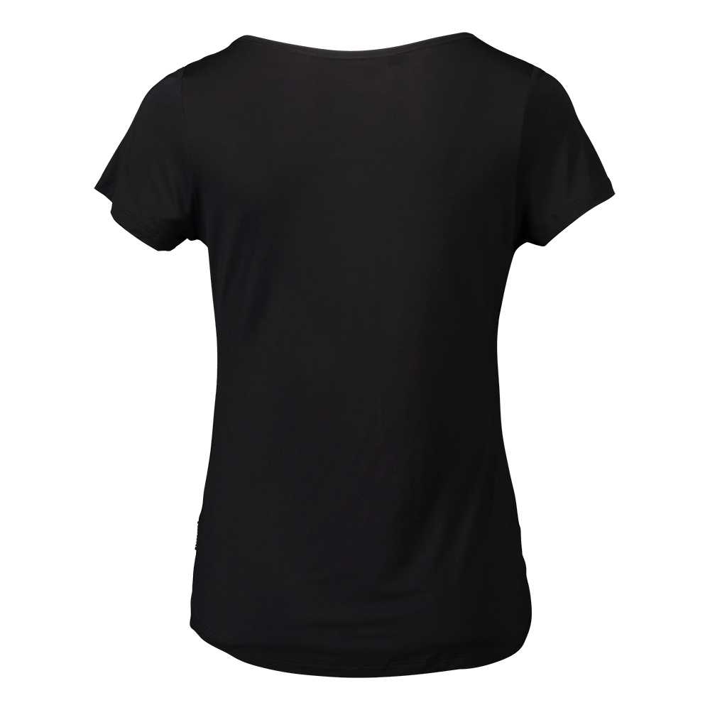 2- PACK LIVIA SHORT SLEEVE / DROP TAIL BLACK