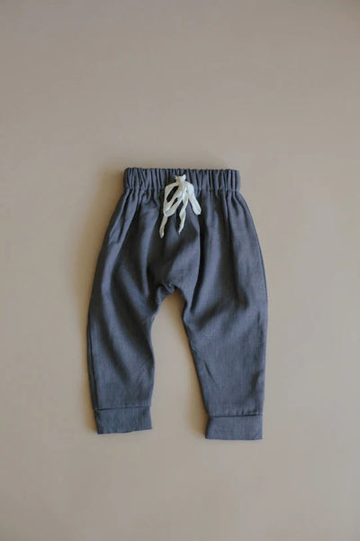 Kind and nature uk grey linen trousers coords sustainable conscious unisex