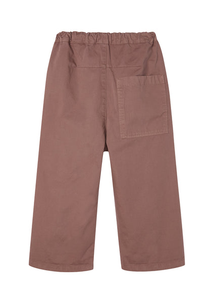 BARREL PANTS - ROSE TAUPE