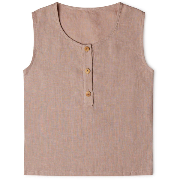 Matona uk organic cotton pink sustainable conscious top vest