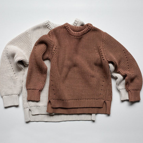 THE ESSENTIAL SWEATER - MOCHA