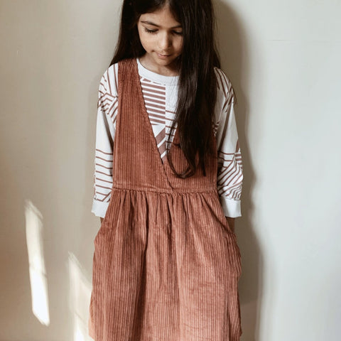CORDUROY DRESS - TAKULA