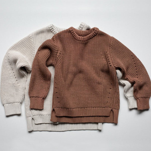THE ESSENTIAL SWEATER - OATMEAL