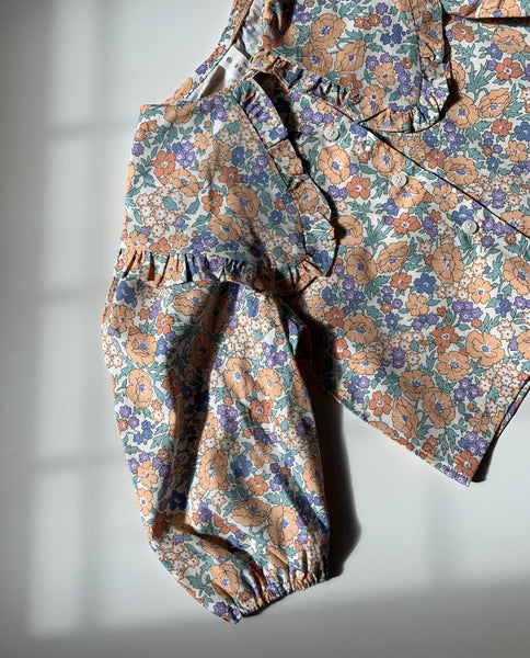COLLAR LOVE BLOUSE - FLORAL