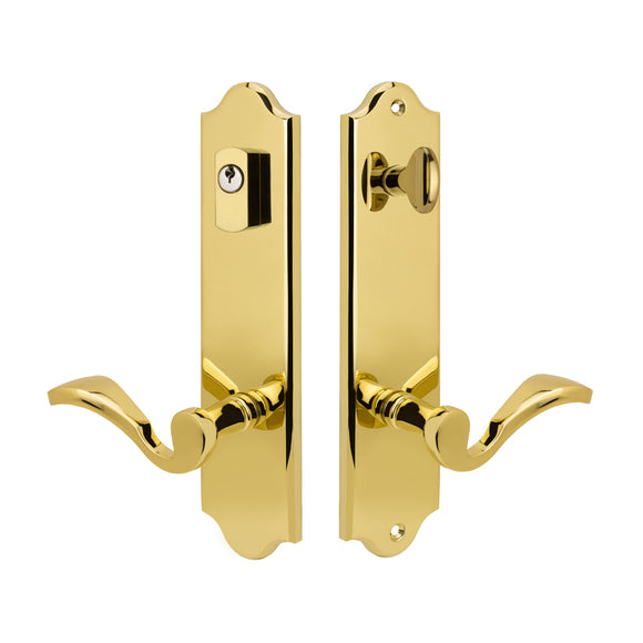 Entry Wide Plate Knob & Lever Sets