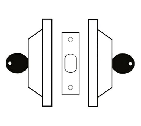 Double Cylinder Deadbolt Graphic