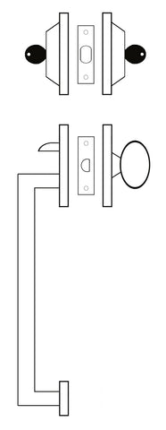 Double Cylinder Handleset Graphic
