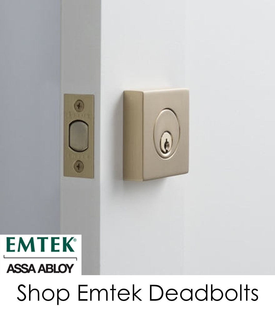 Emtek Deadbolts Link