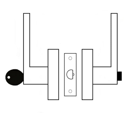 Entry Lever Set Graphic