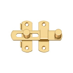 Deltana DL35 Drop Latch Cabin Hook - Solid Brass