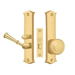 Deltana SDL688 Classic Mortise Storm Door Latch - Solid Brass