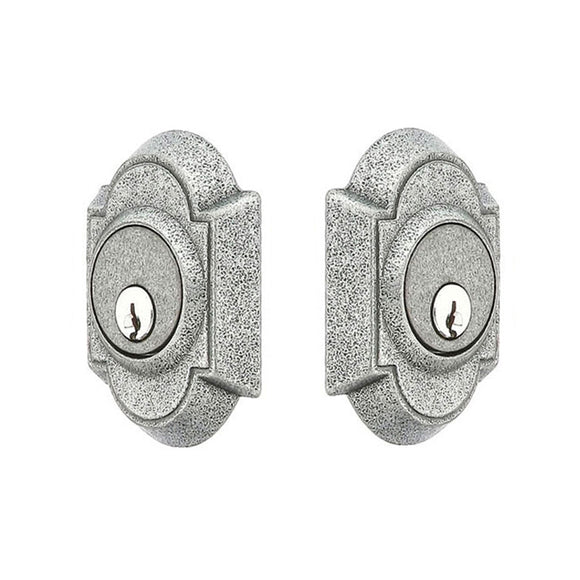 Emtek #1 Wrought Steel Deadbolt - Double Cylinder