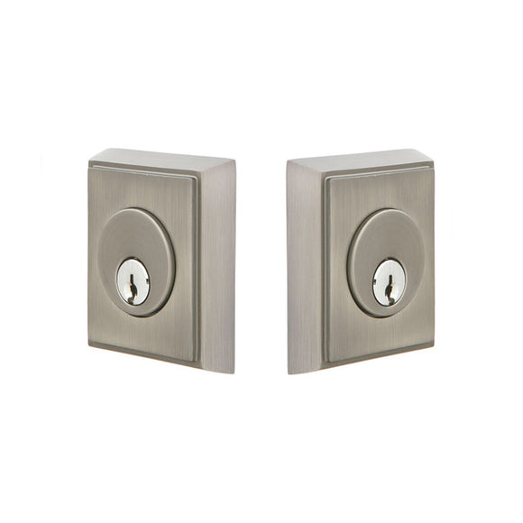 Emtek Rectangular Deadbolt - Double Cylinder