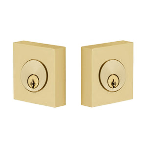 Emtek Square Deadbolt - Double Cylinder