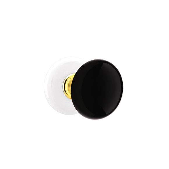 Emtek Ebony Knob Set - Dummy