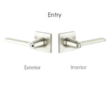 Emtek Siena Lever Set - Entry