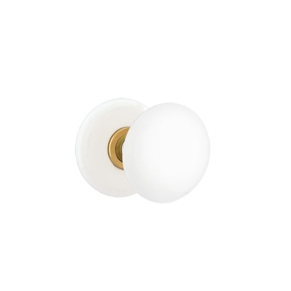 Emtek Ice White Knob Set - Dummy