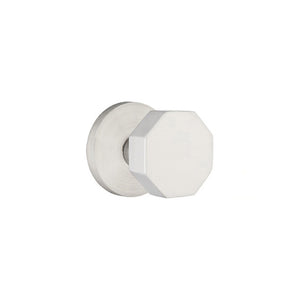 Emtek Stainless Steel Octagon Knob Set - Privacy