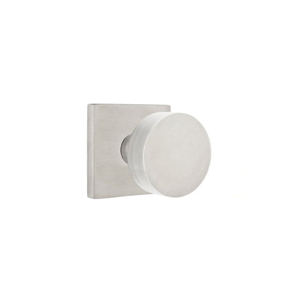 Emtek Stainless Steel Round Knob Set - Passage