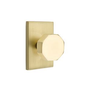 Emtek Modern Octagon Knob Set - Privacy