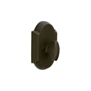 Emtek #1 Sandcast Bronze Deadbolt - Patio
