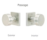 Emtek Ebony Knob Set - Passage
