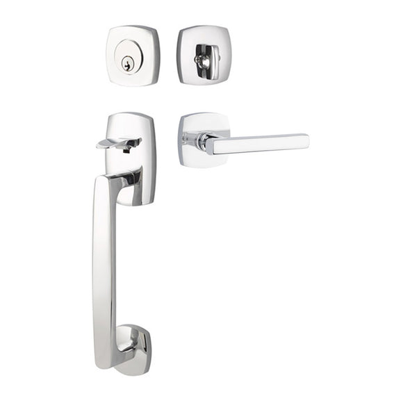 Emtek Urban Modern Entry Handleset - Single Cylinder