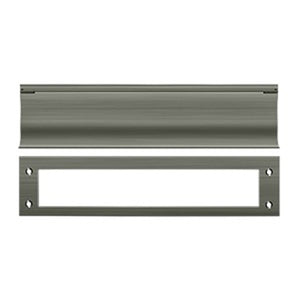 "Deltana MS0030 13"" Heavy Duty Mail Slot - Solid Brass"
