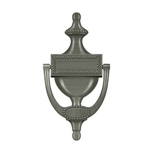 Deltana DKR75 Victorian Rope Door Knocker - Solid Brass