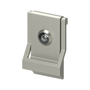 Deltana DKMV4 Door Knocker with Viewer UL Listed - Solid Brass