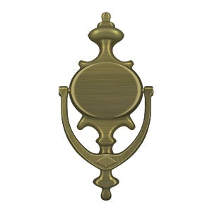 Deltana DK854 Imperial Door Knocker - Solid Brass